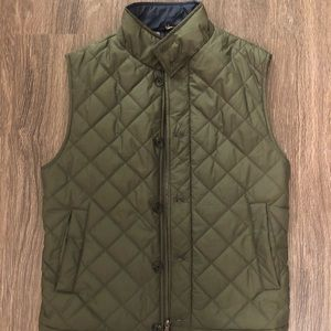 Brooks Brothers Men's Down Vest. Size Small (S)
